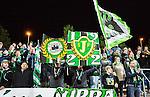 S&ouml;dert&auml;lje 2015-10-05 Fotboll Superettan Syrianska FC - J&ouml;nk&ouml;pings S&ouml;dra :  <br /> J&ouml;nk&ouml;ping S&ouml;dras supportrar med flaggor inf&ouml;r matchen mellan Syrianska FC och J&ouml;nk&ouml;pings S&ouml;dra <br /> (Foto: Kenta J&ouml;nsson) Nyckelord:  Syrianska SFC S&ouml;dert&auml;lje Fotbollsarena J&ouml;nk&ouml;ping S&ouml;dra J-S&ouml;dra supporter fans publik supporters