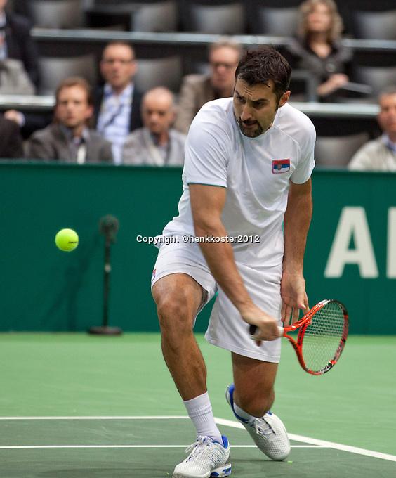 18-02-12, Netherlands,Tennis, Rotterdam, ABNAMRO WTT, Nenad Zimonjic