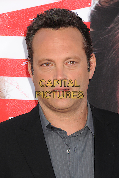 Vince Vaughn<br /> &quot;The Internship&quot; Los Angeles Premiere held at the Regency Village Theatre, Westwood, California, USA.<br /> May 29th, 2013<br /> headshot portrait shirt grey gray suit black<br /> CAP/ADM/BP<br /> &copy;Byron Purvis/AdMedia/Capital Pictures