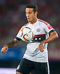 Thiago of Bayern Munich in action during the Bayern Munich vs Guangzhou Evergrande as part of the Bayern Munich Asian Tour 2015  at the Tianhe Sport Centre on 23 July 2015 in Guangzhou, China. Photo by Aitor Alcalde / Power Sport Images