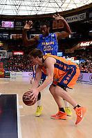 Harangody vs Summers<br /> Liga Endesa ACB - 2014/15<br /> J12<br /> Valencia Basket vs Herbalife Gran Canaria
