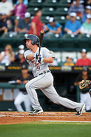 Lakeland Flying Tigers designated hitter Joey Pankake (9) at bat during a game against the Bradenton Marauders on April 16, 2016 at McKechnie Field in Bradenton, Florida.  Lakeland defeated Bradenton 7-4.  (Mike Janes/Four Seam Images)