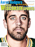 Inside Wisconsin Sports October 2009 cover featuring Green Bay Packers quarterback Aaron Rodgers (12). (Photo by David Stluka)