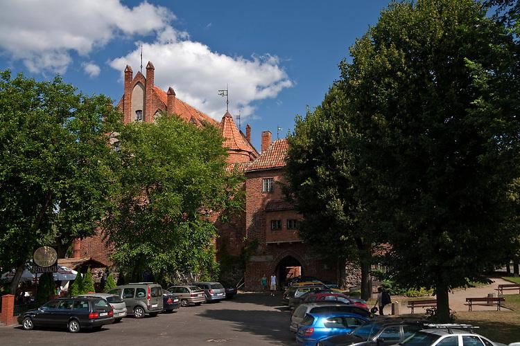 Kętrzyn, 2009-08-09. Zamek krzyżacki w Kętrzynie