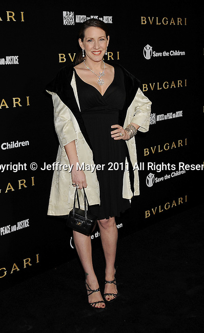 LOS ANGELES, CA - January 13: Joely Fisher attends Save The Children's U.S. Programs And Artists For Peace And Justice Hosted By Bulgari at Ron Burkle's Green Acres Estate on January 13, 2011 in Beverly Hills, California.