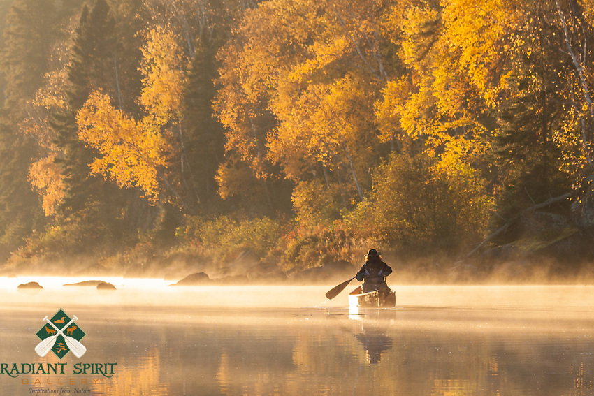 &quot;Autumn Morning Paddle&quot;<br />