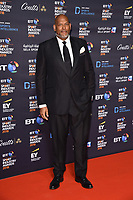 John Amaechi arriving for the BT Sport Industry Awards 2018 at the Battersea Evolution, London, UK. <br /> 26 April  2018<br /> Picture: Steve Vas/Featureflash/SilverHub 0208 004 5359 sales@silverhubmedia.com