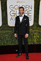 Chris Pine at the 74th Golden Globe Awards  at The Beverly Hilton Hotel, Los Angeles USA 8th January  2017<br /> Picture: Paul Smith/Featureflash/SilverHub 0208 004 5359 sales@silverhubmedia.com