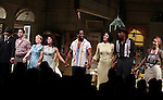 Count Stovall, Matthew Saldivar, Amelia Campbell, Daphne Rubin-Vega, Blair Underwood, Nicole Ari Parker, Wood Harris, Carmen de Lavallade.during the Broadway Opening Night Curtain Call for 'A Streetcar Named Desire' on 4/22/2012 at the Broadhurst Theatre in New York City.