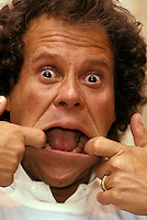 Richard Simmons making a face