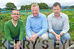 Calling all budding gardeners to a new GIY Group in Killarney as part of the national 'Grow it yourself'  movement which aims to help everyone grow their own food. .L-R Syl Carruth, Bernard O'Shea and Maurice Condon.