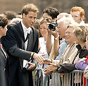23/06/2005         Copyright Pic : James Stewart.File Name : sct_jspa15 wills graduation.PRINCE WILLIAM GREETS THE CROWDS AFTER HIS GRADUATION FROM ST ANDREWS UNIVERSITY......Payments to :.James Stewart Photo Agency 19 Carronlea Drive, Falkirk. FK2 8DN      Vat Reg No. 607 6932 25.Office     : +44 (0)1324 570906     .Mobile   : +44 (0)7721 416997.Fax         : +44 (0)1324 570906.E-mail  :  jim@jspa.co.uk.If you require further information then contact Jim Stewart on any of the numbers above.........