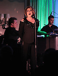 "Colin Freeman, Lorna Luft & Steve Moretti ""Songs My Mother Taught Me: The Judy Garland Songbook"" at Feinsteins in New York City."