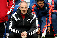 Swansea City Manager Francesco Guidolin  before the Barclays Premier League match between Leicester City and Swansea City played at The King Power Stadium, Leicester on April 24th 2016