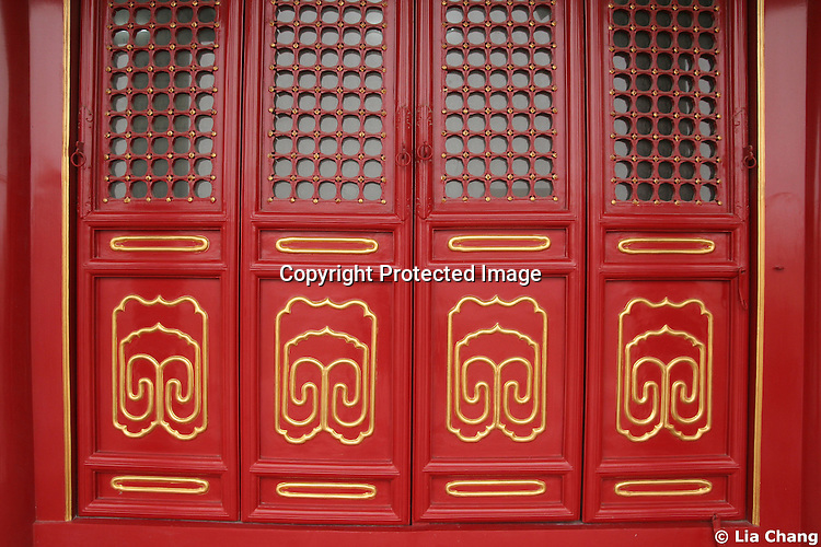 Forbidden City in Beijing, August 3-11, 2008. Photo by Lia Chang