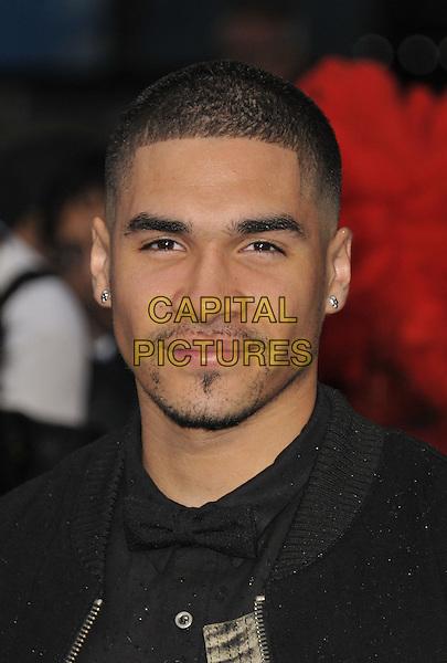 Louis Smith<br /> 'Man Of Steel' UK film premiere, Empire cinema, Leicester Square, London, England.<br /> 12th June 2013<br /> headshot portrait black facial hair goatee <br /> CAP/DS<br /> &copy;Dudley Smith/Capital Pictures