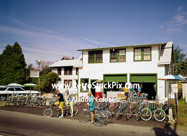 Seaside Motel Old Orchard Beach Maine Bike Rental Retrostockpixcom