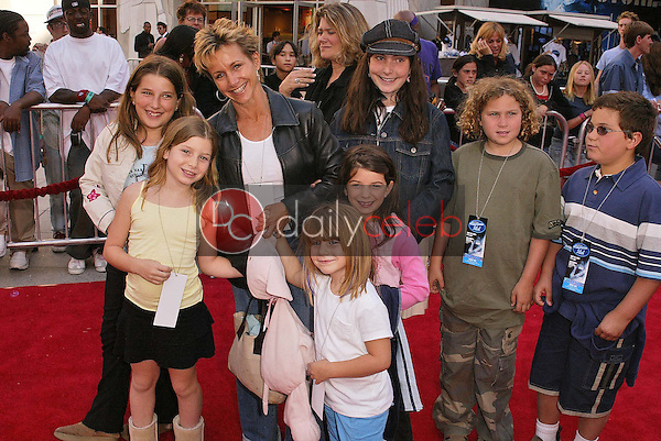 Gabrielle Carteris and kids