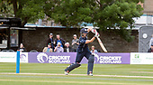 Cricket Scotland - Scotland V Namibia World Cricket League One-Day match today (Sun) at Grange CC - Matty Cross - this match is the first of two WCL games this week against Namibia on the same ground - picture by Donald MacLeod - 11.06.2017 - 07702 319 738 - clanmacleod@btinternet.com - www.donald-macleod.com