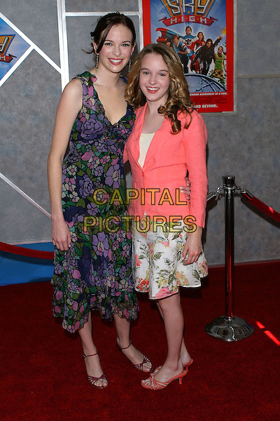 "24 July 2005 - Hollywood, CA - Danielle Panabaker and Sister Kay Panabaker. World premiere of ""Sky High"" held at The El Capitan Theatre..Photo credit: Jacqui Wong/AdMedia"