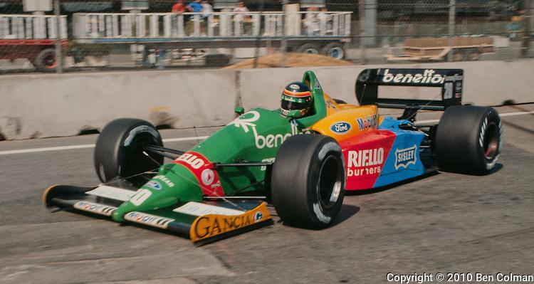 Thierry Boutsen, Benetton B188, Detroit 1988