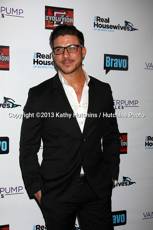 LOS ANGELES - OCT 23:  Jax Taylor at the Real Housewives of Beverly Hills Season 4 Party AND Vanderpump Rules Season 2 Party at Boulevard 3 on October 23, 2013 in Los Angeles, CA