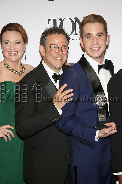 poses at the 71st Annual Tony Awards, in the press room at Radio City Music Hall on June 11, 2017 in New York City.