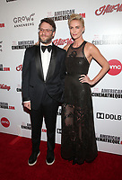 BEVERLY HILLS, CA - NOVEMBER 8: Seth Rogen, Charlize Theron, 33rd American Cinematheque Award Presentation Honoring Charlize Theron at The Beverly Hilton Hotel in Beverly Hills, California on November 8, 2019. Credit Faye Sadou/MediaPunch