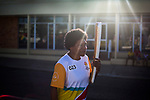 Batonbebearer Cathy Reto carrying the Baton as the Queen's Baton Relay visited Hughenden. In the host state of Queensland the Queen's Baton will visit 83 communities from Saturday 3 March to Wednesday 4 April 2018. As the Queen's Baton Relay travels the length and breadth of Australia, it will not just pass through, but spend quality time in each community it visits, calling into hundreds of local schools and community celebrations in every state and territory. The Gold Coast 2018 Commonwealth Games (GC2018) Queen's Baton Relay is the longest and most accessible in history, travelling through the Commonwealth for 388 days and 230,000 kilometres. After spending 100 days being carried by approximately 3,800 batonbearers in Australia, the Queen's Baton journey will finish at the GC2018 Opening Ceremony on the Gold Coast on 4 April 2018.