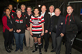 Counties Manukau Womens captain Rawinia Everitt with CMRFU staff and board members. Counties Manukau Womens team 2013 launch at The Local in Manukau City on Tuesday 3rd of September.