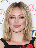 LOS ANGELES, CA, USA - AUGUST 10: Hilary Duff arrives at the Teen Choice Awards 2014 held at The Shrine Auditorium on August 10, 2014 in Los Angeles, California, United States. (Photo by Celebrity Monitor)