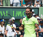 Rafael Nadal (ESP) defeats Fabio Fognini (ITA) by 6-1, 7-5