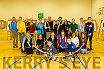 Members of An Riocht Archery Club, who hold their meetings every monday at 7pm at the John Mitchels GAA Complex
