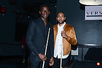 NEW YORK CITY - MARCH 15: Damson Idris and Jeremie Harris attend FX Networks 2018 Annual All-Star Bowling Party at Lucky Strike Manhattan on March 15, 2018 in New York City. (Photo by Anthony Behar/FX/PictureGroup)