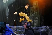 IRON MAIDEN - Bruce Dickinson - performing live on Day Three on the Lemmy Stage at the Download Festival at Donington Park UK - 12 Jun 2016.  Photo credit: Zaine Lewis/IconicPix