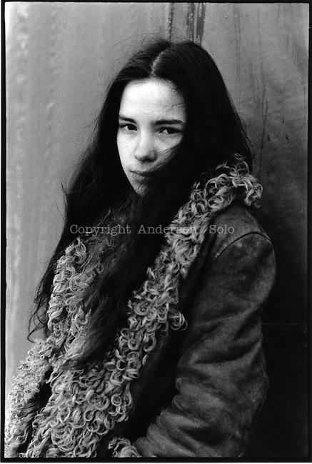 Valerie Valere, French writer in 1979.