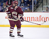 Brett Motherwell - The Boston College Eagles defeated the University of Massachusetts-Lowell River Hawks 4-3 in overtime on Saturday, January 28, 2006, at the Paul E. Tsongas Arena in Lowell, Massachusetts.