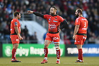 Alby Matthewson of Toulon. European Rugby Champions Cup match, between RC Toulon and Bath Rugby on December 9, 2017 at the Stade Mayol in Toulon, France. Photo by: Patrick Khachfe / Onside Images