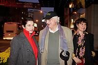 Montreal (Qc) CANADA, November 1st 2007-<br /> <br /> EMMANUELLE DEVOS, the CINEMANIA 2007 film festival<br /> Honorary President (L) together with the director and actress Anne Le Ny (R) ans director Bertand Tavernier, will present the North American premiere of their film CEUX QUI RESTENT<br /> <br /> photo : Pierre Roussel (c)  Images Distribution