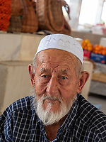 Auf dem Basar, Samarkand, Usbekistan, Asien<br /> Bazaar in Samarkand, Uzbekistan, Asia