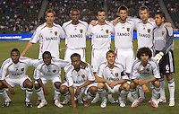 Team Real Salt Lake starting XI. Chivas USA beat Real Salt Lake 4-0 at the Home Depot Center in Carson, California, Saturday, April 21, 2007.