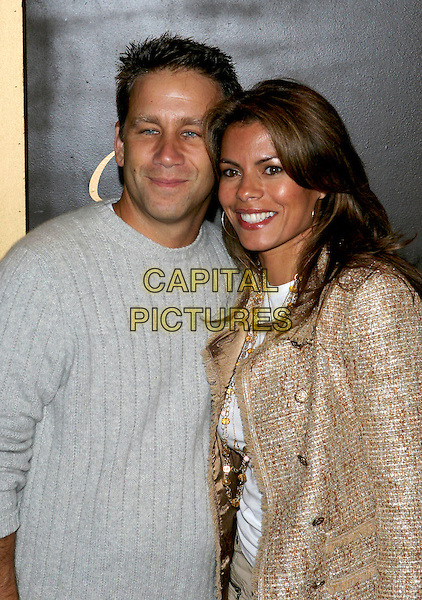 LISA VIDAL.Cartier Celebrates 25 Years In Beverly Hills In Honor Of Project A.L.S. held on Rodeo Drive..May 9th, 2005.Photo Credit: Jacqui Wong/AdMedia.half length beige metallic jacket gold .www.capitalpictures.com.sales@capitalpictures.com.© Capital Pictures.