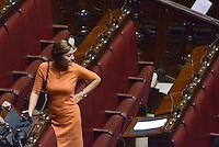 Roma, 31 Gennaio 2015<br /> Renata Polverini<br /> Camera dei Deputati.<br /> Alla quarta votazione viene eletto Sergio Mattarella a Presidente della Repubblica.