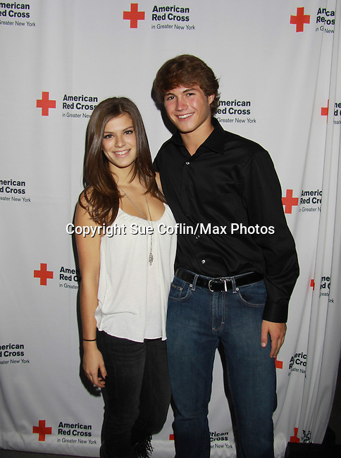 Kelley Missal & Andrew Trischitta - OLTL at the 7th Annual Rock Show For Charity hosted by Kristen Alderson and Gina Tognoni and Bradley Cole to benefit American Red Cross - disaster relief efforts in Japan on October 8, 2011 at the SoHo Playhouse, New York City, New York. (Photo by Sue Coflin/Max Photos)