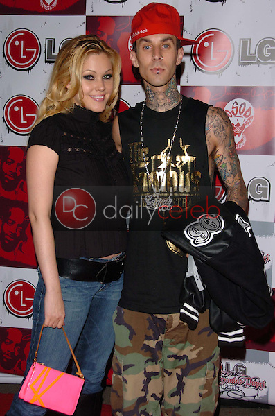 Shanna Moakler and Travis Barker<br />at the LG and Jermain Dupri FUSIC Party. Day After Club, Hollywood, CA. 06-27-06<br />Scott Kirkland/DailyCeleb.Com 818-249-4998