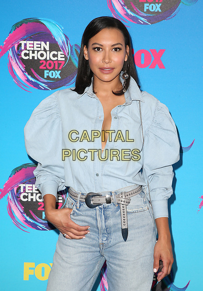 LOS ANGELES, CA - AUGUST 13: Naya Rivera, at the Teen Choice Awards 2017 at Galen Center on August 13, 2017 in Los Angeles, California. <br /> CAP/MPI/FS<br /> &copy;FS/MPI/Capital Pictures