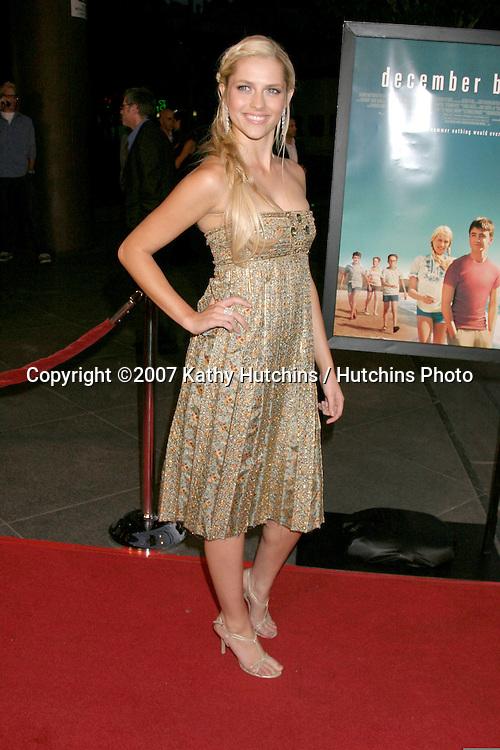 "Teresa Palmer.""December Boys"" Premiere.Director's Guild Theater.Los Angeles,  CA.September 6, 2007.©2007 Kathy Hutchins / Hutchins Photo..."