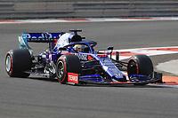 3rd December 2019; Yas Marina Circuit, Abu Dhabi, United Arab Emirates; Pirelli Formula 1 tyre testing sessions; Scuderia Toro Rosso, Sean Gelael