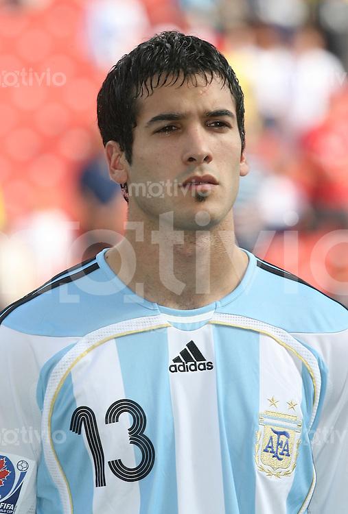 Fussball International U 20 WM  Argentinien - Nordkorea German VOBORIL (ARG).