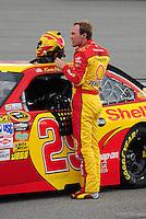 May 1, 2009; Richmond, VA, USA; NASCAR Sprint Cup Series driver Kevin Harvick during qualifying for the Russ Friedman 400 at the Richmond International Raceway. Mandatory Credit: Mark J. Rebilas-